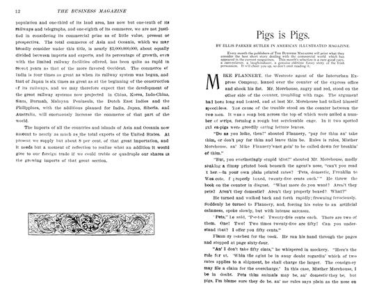 Article Preview: Pigs is Pigs., October 1905 | Maclean's