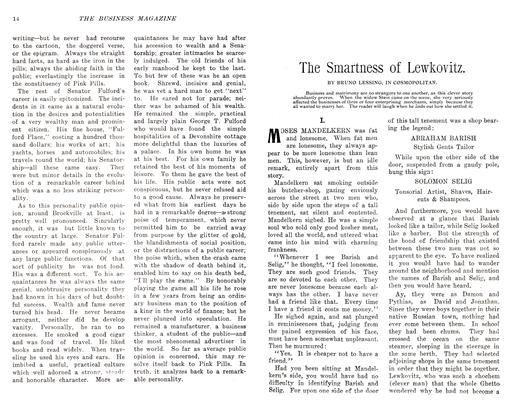 Article Preview: The Smartness of Lewkovitz., November 1905 | Maclean's