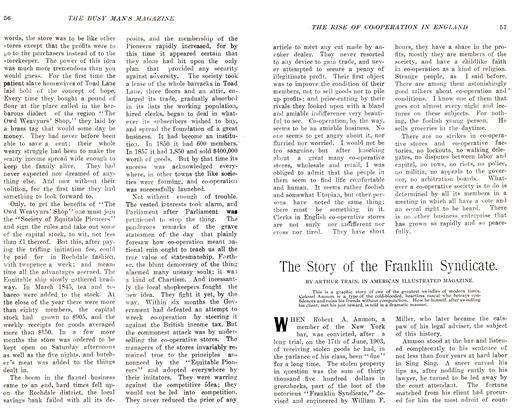 Article Preview: The Story of the Franklin Syndicate., December 1905 | Maclean's