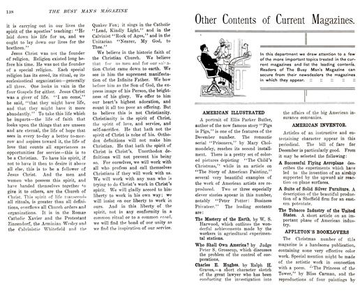 Article Preview: Other Contents of Current Magazines., December 1905 | Maclean's