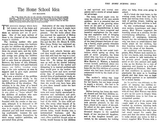 Article Preview: The Home School Idea, February 1906 | Maclean's