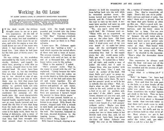 Article Preview: Working An Oil Lease, February 1906 | Maclean's