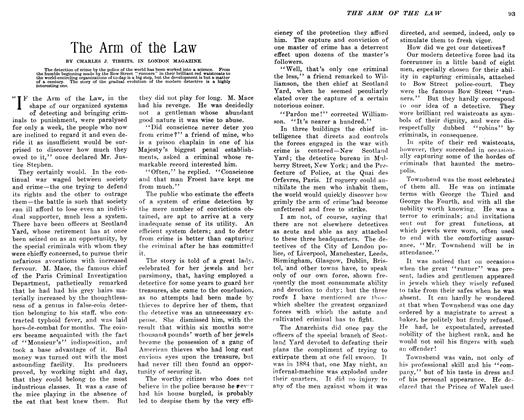 Article Preview: The Arm of the Law, February 1906 | Maclean's