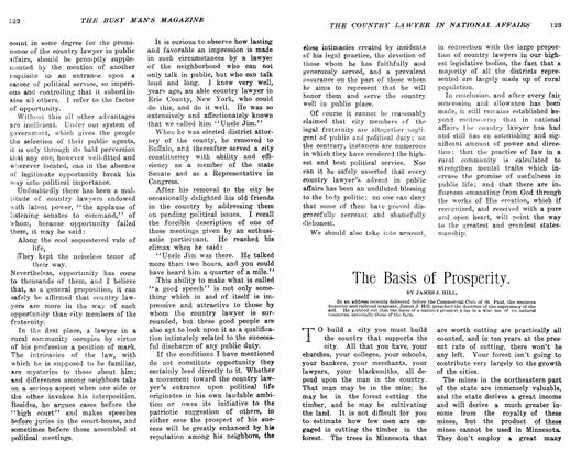 Article Preview: The Basis of Prosperity, March 1906 | Maclean's