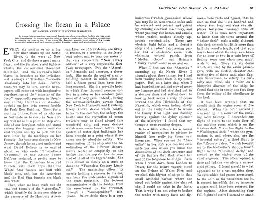 Article Preview: Crossing the Ocean in a Palace, April 1906 | Maclean's
