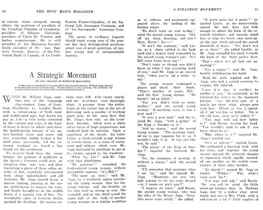 Article Preview: A Strategic Movement, April 1906 | Maclean's