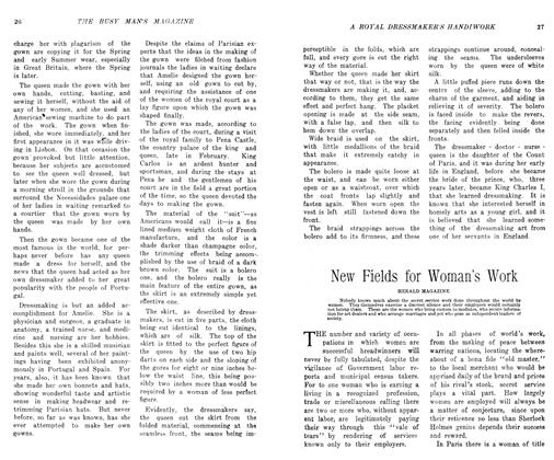 Article Preview: New Fields for Woman's Work, May 1906 | Maclean's