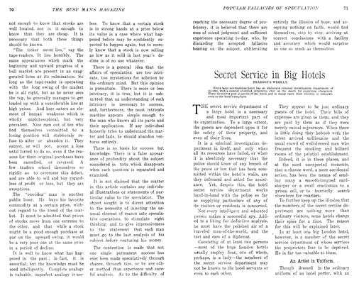 Article Preview: Secret Service in Big Hotels, May 1906   Maclean's