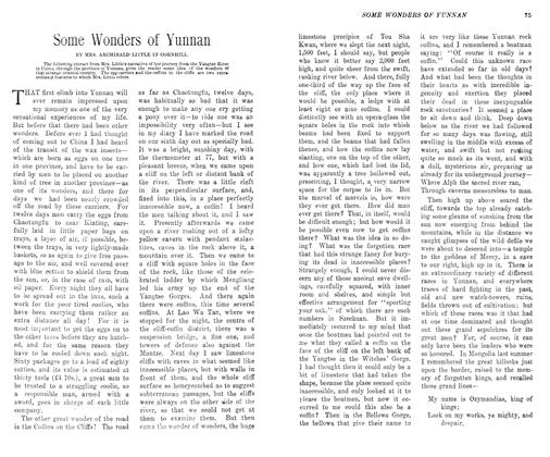 Article Preview: Some Wonders of Yunnan, May 1906 | Maclean's
