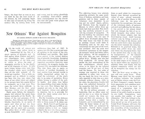 Article Preview: New Orleans' War Against Mosquitos, July 1906 | Maclean's