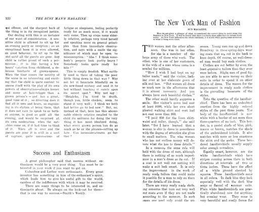 Article Preview: The New York Man of Fashion, July 1906 | Maclean's