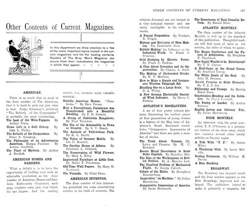 Article Preview: Other Contents of Current Magazines, July 1906 | Maclean's
