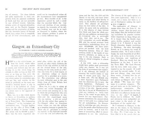 Article Preview: Glasgow, an Extraordinary City, August 1906 | Maclean's