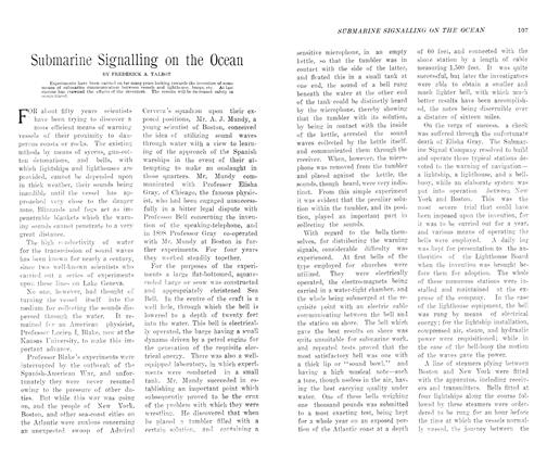 Article Preview: Submarine Signalling on the Ocean, August 1906 | Maclean's