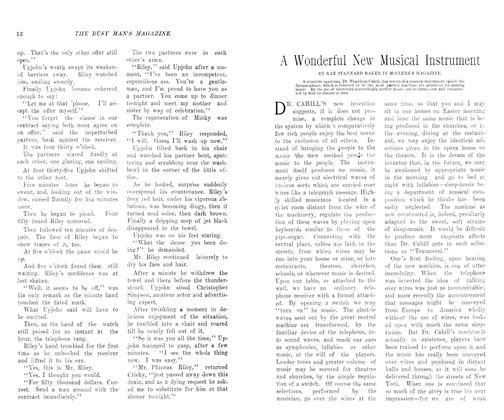 Article Preview: A Wonderful New Musical Instrument, August 1906 | Maclean's