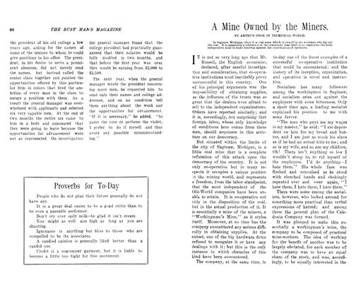 Article Preview: A Mine Owned by the Miners., SEPT., 1906 1906 | Maclean's