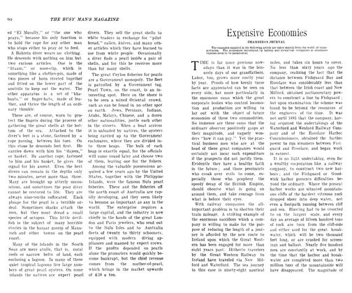 Article Preview: Expensive Economies, SEPT., 1906 1906 | Maclean's
