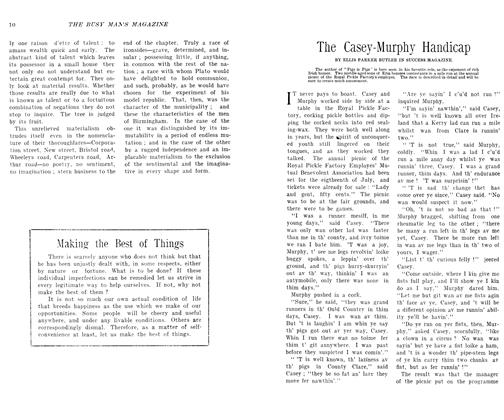 Article Preview: The Casey-Murphy Handicap, SEPT., 1906 1906 | Maclean's