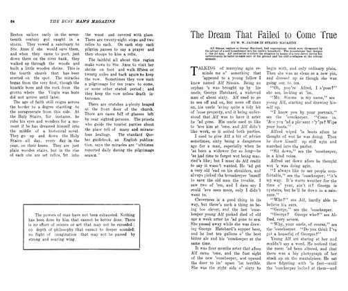 Article Preview: The Dream That Failed to Come True, October 1906 | Maclean's