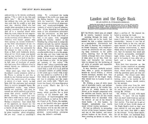 Article Preview: Landon and the Eagle Bank, October 1906 | Maclean's