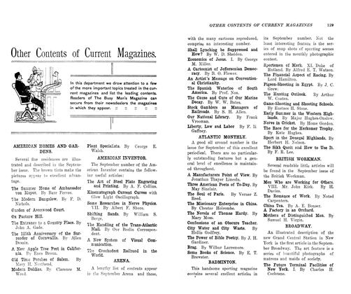 Article Preview: Other Contents of Current Magazines., October 1906 | Maclean's