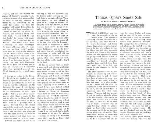 Article Preview: Thomas Ogden's Smoke Sale, October 1906 | Maclean's