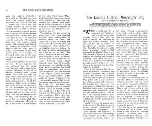 Article Preview: The London District Messenger Boy, November 1906 | Maclean's