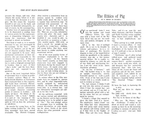 Article Preview: The Ethics of Pig, November 1906 | Maclean's