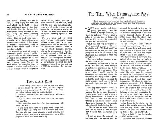 Article Preview: The Time When Extravagance Pays, December 1906 | Maclean's