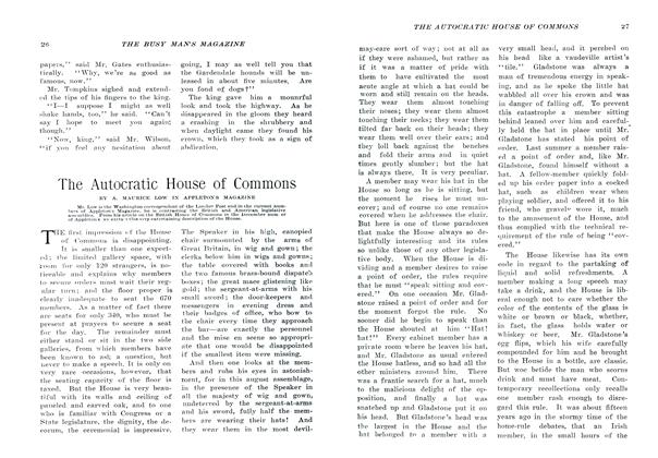 Article Preview: The Autocratic House of Commons, January 1907 | Maclean's