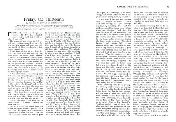 Article Preview: Friday, the Thirteenth, January 1907 | Maclean's