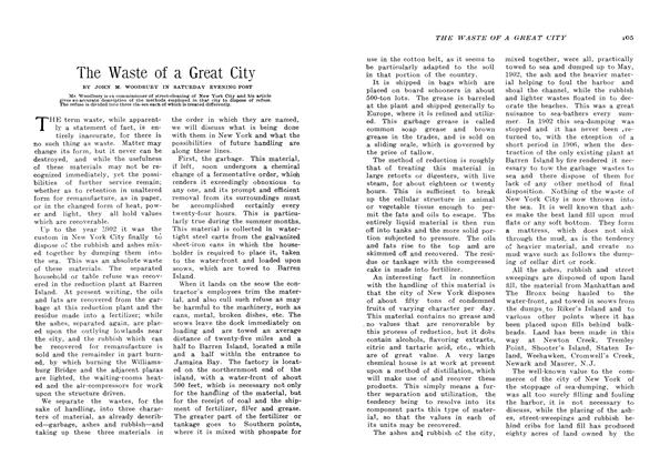 Article Preview: The Waste of a Great City, January 1907 | Maclean's