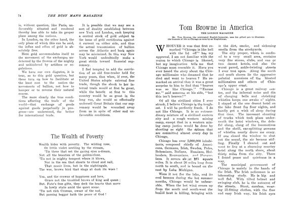 Article Preview: Tom Browne in America, February 1907 | Maclean's