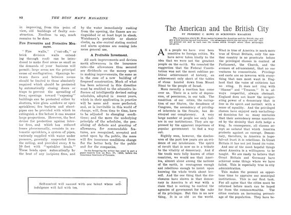Article Preview: The American and the British City, February 1907 | Maclean's