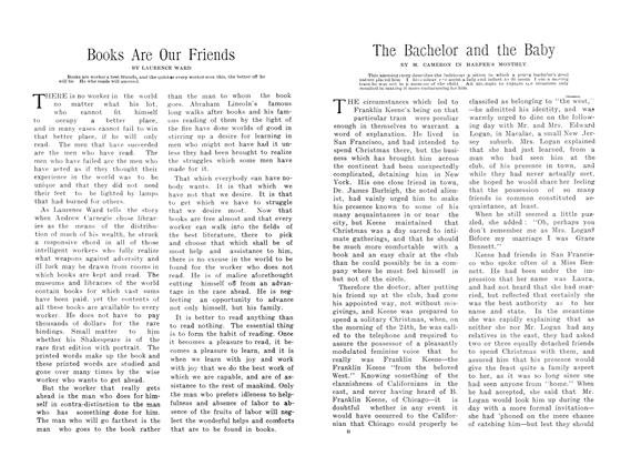 Article Preview: The Bachelor and the Baby, March 1907 | Maclean's