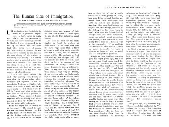 Article Preview: The Human Side of Immigration, March 1907 | Maclean's