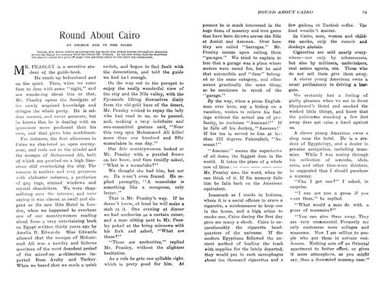 Article Preview: Round About Cairo, March 1907 | Maclean's