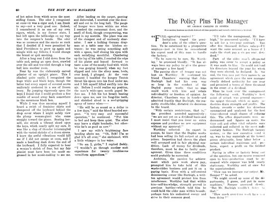Article Preview: The Policy Plus The Manager, April 1907 | Maclean's