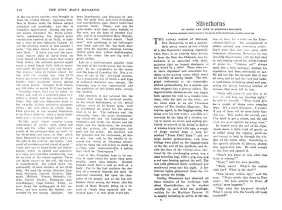 Article Preview: Silverhorns, April 1907   Maclean's