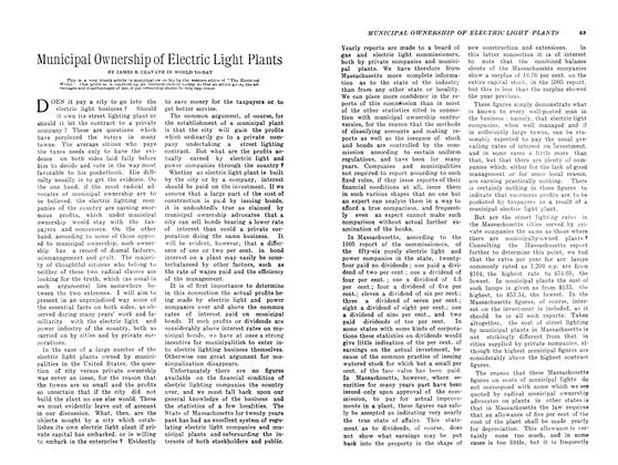 Article Preview: Municipal Ownership of Electric Light Plants, May 1907 | Maclean's