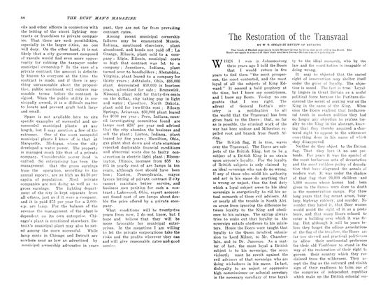 Article Preview: The Restoration of the Transvaal, May 1907 | Maclean's