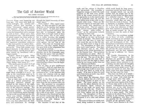 Article Preview: The Call of Another World, June 1907   Maclean's
