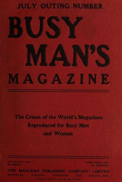 Issue: - July 1907 | Maclean's