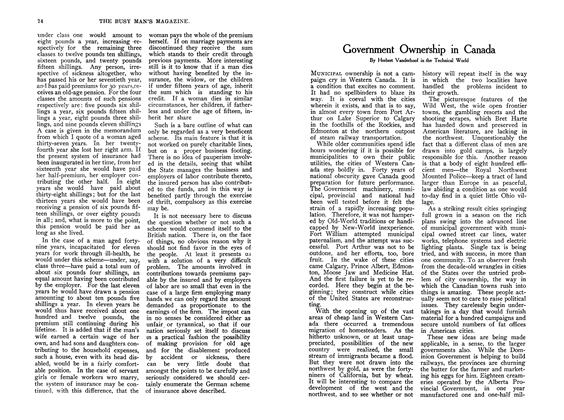 Article Preview: Government Ownership in Canada, July 1907 | Maclean's