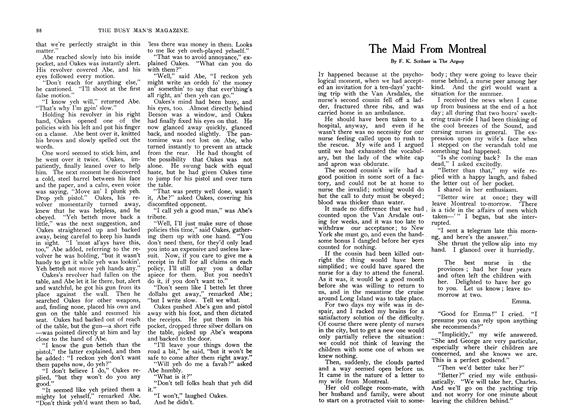 Article Preview: The Maid From Montreal, July 1907 | Maclean's