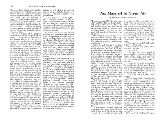 Article Preview: Patsy Moran and the Orange Paint, August 1907 | Maclean's