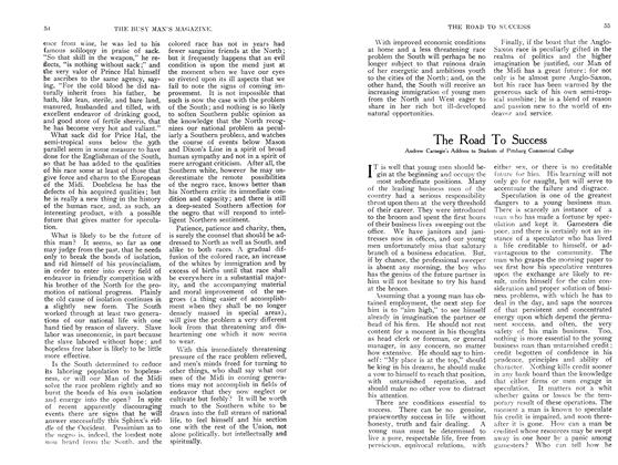 Article Preview: The Road To Success, September 1907 | Maclean's