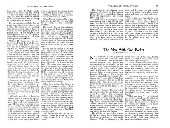 Article Preview: The Man With One Pocket, September 1907   Maclean's