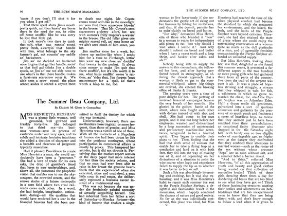 Article Preview: The Summer Beau Company, Ltd., September 1907 | Maclean's