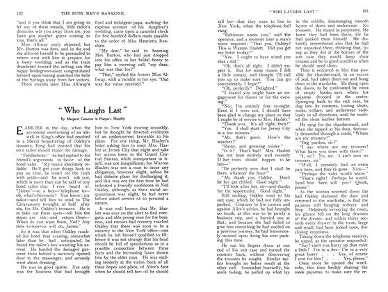 "Article Preview: ""Who Laughs Last"", September 1907 